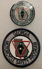 GEORGIA MOTORCYCLE SAFETY PROGRAM PATCH & DECAL BRAND NEW