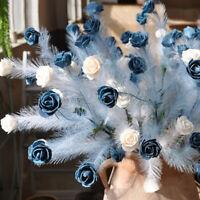 Simulation Blume Phoenix Schwanz Curling Rose PE Schaum Bouquet DIY Hochzeit