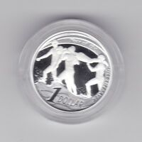 2007 Australia $1 Proof Coin Year of Surf Lifesaver ex Fine Silver Set
