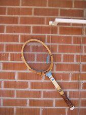 Vintage *** WILSON - Billy Jean King *** Wooden Tennis Racket USA