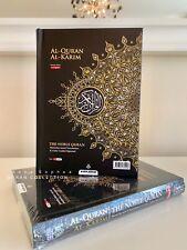 New NOBLE Quran A5 Black Word for Word Arabic English Translation Colour Tajweed