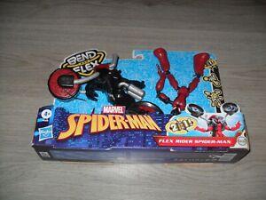 Marvel Spider-Man Bend And Flex Rider Spider-Man - NEW