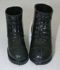 Vintage GI Joe Short Black Boots  GI2996