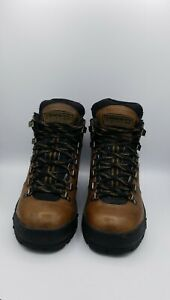 Timberland 86144 Performance ACT Brown Leather Hiking Boots Men Size 7M
