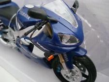 Yamaha YZF R 1 Blue White 2000 Newray 1:12