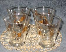 "New ListingVtg Mcm 3"" Meth Gold Matador Bullfighter Barware Lowball Shot Glass Cocktail"