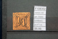 STAMPS OLD STATES GERMANY TURN&TAXIS YVERT N°1 USED (F108302)