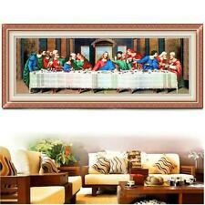 DIY Needlework Handmade Cross Stitch Kits The Last Supper Religious Jesus C #F8s