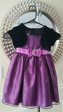 Baby Girl Dress 4T Purple Love Special Occassions Pageant Wedding Church Dress