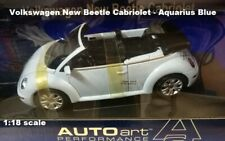 AUTOart 79752 Volkswagen New Beetle Cabriolet  Aquarius Blue 1:18