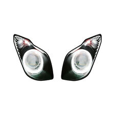 HEADLIGHT STICKERS WORLD SUPERBIKE STYLE - TO FIT KAWASAKI ZX6R 2009> / DECALS