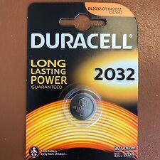 Nueva Batería de botón de litio Duracell CR2032 3V Moneda Celda dl/cr 2032 de caducidad 2026