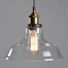 Glas Hängeleuchte Heywood Vintage Retro 28cm Hängelampe Lampe Loft Edison Lampen