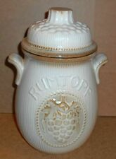 Continental Pottery Tableware Jars