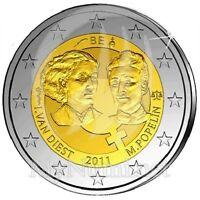 BELGIQUE 2 Euro Commemorative Journée Droits de la Femme 2011 UNC