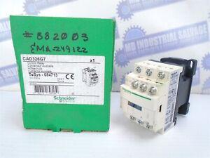Schneider TeSys - CAD326G7 - CONTOL RELAY- 600V, 120V Control - 3NO-2NC -(NEW)