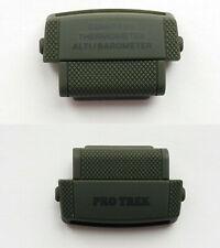 Casio Genuine Factory ProTrek Strap Cover End Piece PRG-250B-3 PRW-2500B-3 2 pcs