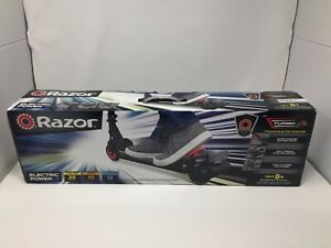 Authentic Razor Turbo A Black Label Powered Electric Scooter Black Red BRAND NEW