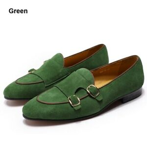 Mens Loafers Shes Wedding Shoes Casual Shoes Monk Strap Men Dress Shoes