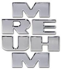 H20039SC 2003-2010 H2 Hummer SUV & SUT Chrome Billet 5/16 Thick Bumper Letters