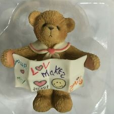 Very Rare Cherished Teddies 833320 Your Love Makes My Heart Smile Heart Strings4