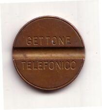 Gettone telefonico Italia 1956 senza data e senza ditta conservazione BB
