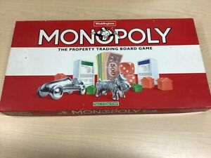 Waddingtons Complete Monopoly Original  Made In England good Condition