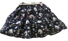 Girls size 6 UNICORNS & Rabbits Party SKIRT & Belt Tutu's & Tambourines NEW 1717