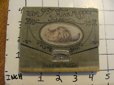 The STORY OF MISS MOPPET Beatrix Potter first american edition Wallet style 1906