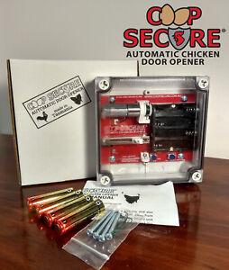 Coop Secure - Automatic Chicken Coop Door Opener (Made in Tasmania)