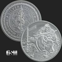 2 oz Rate Reaper Silver Round Silver Coin .999 Fine SILVER COIN ROUND - IN-STOCK