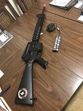 """Lancer Tactical LT-22B 12"""" RIS AEG Semi Full Auto Airsoft Rifle Gun with Sights"""