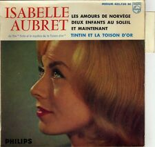 ISABELLE AUBRET TINTIN ET LA TOISON D'OR FRENCH ORIG EP JEAN-MICHEL DEFAYE