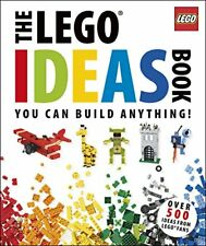 The LEGO Ideas Book by Daniel Lipkowitz Hardcover book 9781405350679 NEW