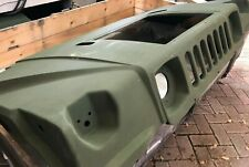 NEW GREEN HOOD, ENGINE COMPARTMENT 2510014732309 12338940-1 5578511 HMMWV M998