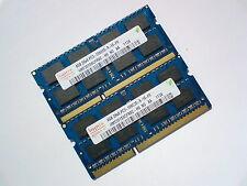 8GB 2x4GB DDR3-1333 PC3-10600 1333Mhz 1066 HYNIX LAPTOP MEMORY RAM SPEICHER