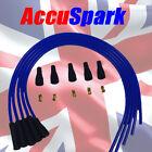 supersuaves Azul Rendimiento Silicona 8mm Conjunto De Cables HT 4 Cilindros