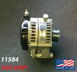 300 AMP 11584 Alternator Jeep Wrangler JK 12-18 High Output HD Performance NEW