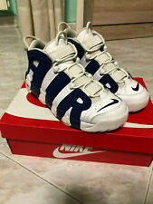 nike air more uptempo 96 knicks,size 40,used