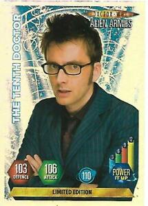 Doctor Who Alien Armies Limited Edition 10th Doctor With Glasse - PANINI  - RARE