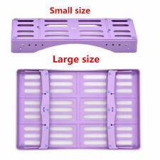 Dental Plastic Sterilization Cassette Rack Tray Holder 510 Pcs Instruments Tray