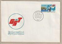 """Ersttagsbrief - """"30 Jahre Gesellschaft für Sport und Technik"""" Marke/Stempel 1982"""