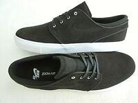 Nike Mens Air Zoom Stefan Janoski Suede Skate Shoes Velvet Brown White Size 9.5