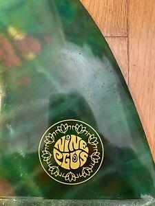 Nine plus Longboard 9 inch Fin