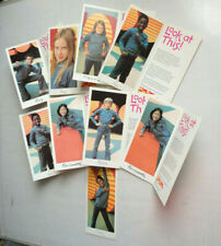 ZOOM 1970s PBS TV SHOW 9 ZOOMCARD POSTCARDS WGBH BOSTON 1973! MOST COMPLETE EX