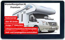WomoNavigation XL Premium - Das Navi für Mobilisten - GPS - 7 Zoll - Navi