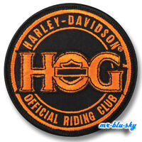 Official Riding Club patch ~ Harley Davidson Owners Group HOG  H.O.G.