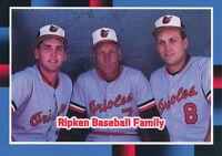 Cal Ripken Jr. 1988 Donruss #625 Baltimore Orioles baseball card  HOF