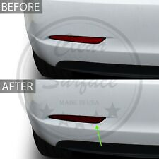 Fits Tesla Model 3 Rear Bumper Reflectors Precut Smoke Vinyl Tint Cover Overlay