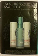 Toni & Guy Casual Collection 3Pc Hairstyling Kit Plumping Mousse, Hairspray